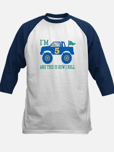 5th Birthday Monster Truck Tee