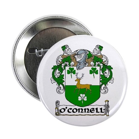 "O'Connell Coat of Arms 2.25"" Button (10 pack)"