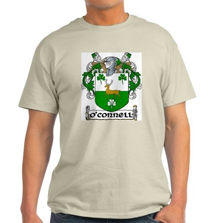 O'Connell Coat of Arms Light T-Shirt