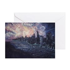 New York Lights Greeting Cards (Pk of 10)