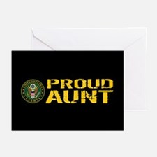 U.S. Army: Proud Aunt Greeting Cards (Pk of 10)