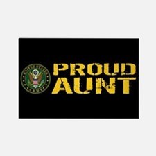 U.S. Army: Proud Aunt Rectangle Magnet
