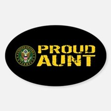 U.S. Army: Proud Aunt Sticker (Oval)