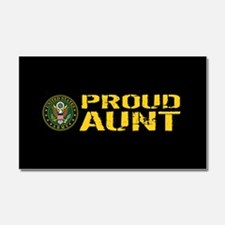 U.S. Army: Proud Aunt Car Magnet 20 x 12