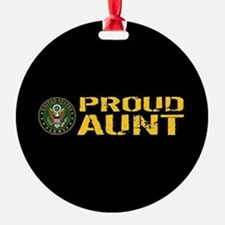 U.S. Army: Proud Aunt Ornament