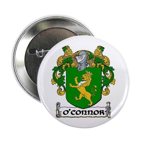 "O'Connor Coat of Arms 2.25"" Button (10 pack)"