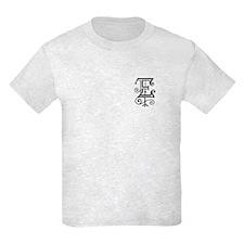 "Gothic ""E"" Initial T-Shirt"