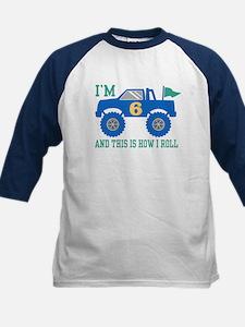 6th Birthday Monster Truck Tee