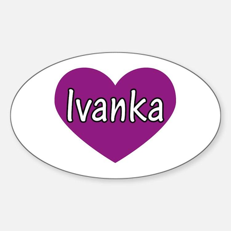 Ivanka Oval Decal