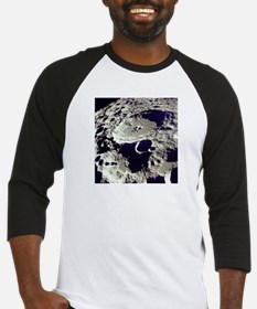 Crater Deadalus far side Moon from Baseball Jersey