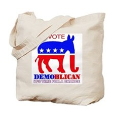 Demoblican Vote Tote Bag