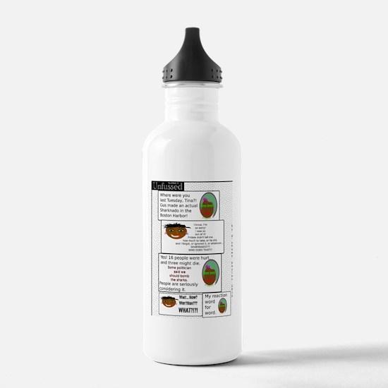 Cute Sharknado Water Bottle