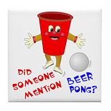 Beer pong Drink Coasters