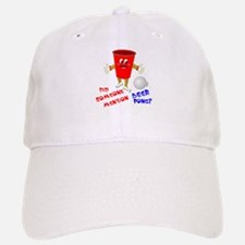 Did Someone Mention Beer Pong Baseball Baseball Cap