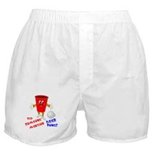 Did Someone Mention Beer Pong Boxer Shorts