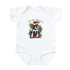 Std.Schnauzer 'Tis Infant Bodysuit