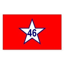 Oklahoma 1911-1925 Rectangle Decal