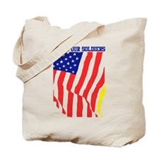 Honor Our Soldiers Tote Bag
