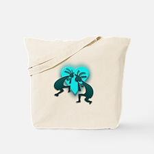 Two Kokopelli #54 Tote Bag