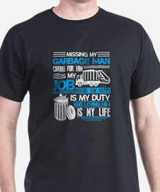Funny Garbage man T-Shirt