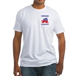 Demoblican Fitted T-Shirt