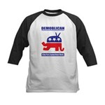 Demoblican Kids Baseball Jersey