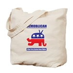 Demoblican Tote Bag