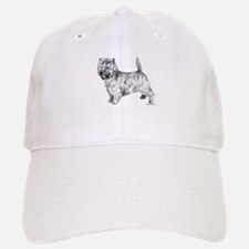 Cairn Terrier pen & ink Baseball Baseball Cap
