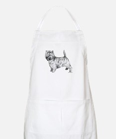 Cairn Terrier pen & ink BBQ Apron