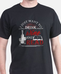Unique Drink coffee read books T-Shirt