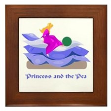 Princess and the pea  Framed Tile