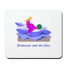 Princess and the pea  Mousepad
