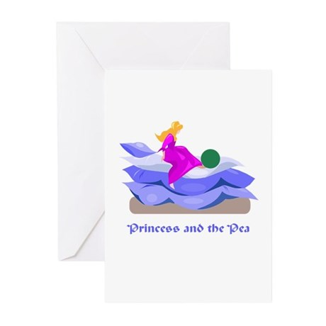 Princess and the pea Greeting Cards (Pk of 10)