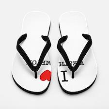 I Love WESTHAMPTON Flip Flops