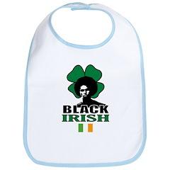 Black Irish Bib