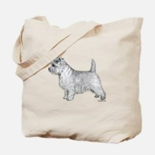 Cairn Terrier side Tote Bag