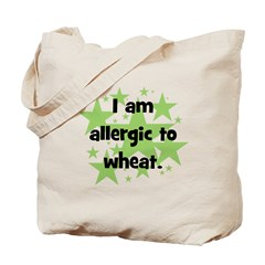 Allergic to Wheat - stars Tote Bag