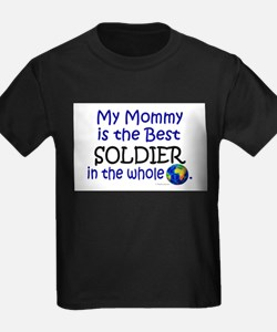 Best Soldier In The World (Mommy) T-Shirt