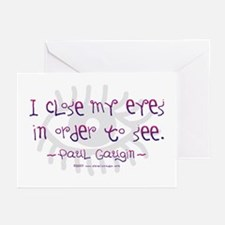 I Close my Eyes Greeting Cards (Pk of 10)