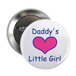 """DADDYS LITTLE GIRL 2.25"""" Button (100 pack)"""