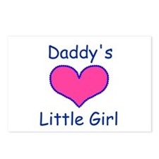 DADDYS LITTLE GIRL Postcards (Package of 8)