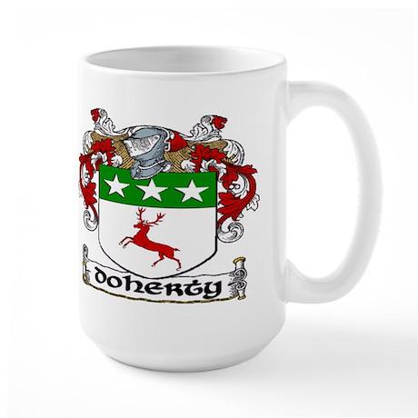 Doherty Coat of Arms Large Mug