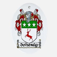 Doherty Coat of Arms Ornament (Oval)