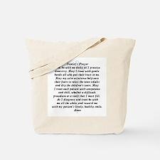 Dentist's Prayer Tote Bag