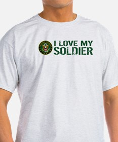 U.S. Army: I Love My Soldier (Green) T-Shirt