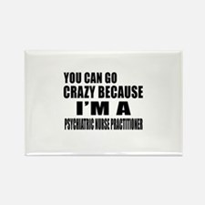 I Am PSYCHIATRIC NURSE Rectangle Magnet