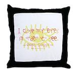 Gaugin Art Quote Throw Pillow