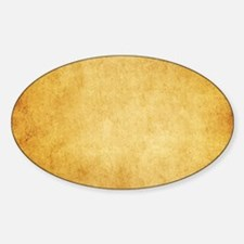 Yellow Brown Parchment Paper Textured Back Decal