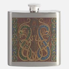 Harvest Moon's Viking Dragons Flask