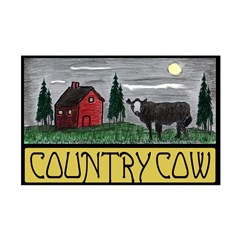 Country Cow Posters